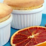 Grapefruit Curd Soufflé Using Microwave Curd - Lavender and Lime