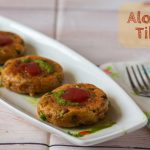 How to make Aloo Tikki in Grill Oven - Kali Mirch - by Smita