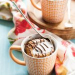Banana Nutella Molten Lava Mug Cakes - The Kitchen McCabe
