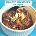 Healthy Chocolate Oatmeal / The Grateful Girl Cooks!