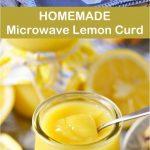 Homemade Microwave Lemon Curd Recipe - CUCINA DE YUNG