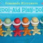 Easy Homemade Play-Doh Made With Kool-Aid