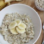 Egg White Oatmeal in the Microwave
