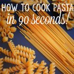 How to Quick-Cook Pasta in 90 Seconds! -