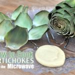 How to Cook Artichokes in the Microwave ♥