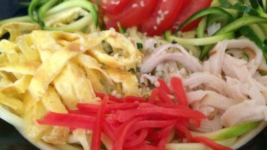 Refreshing! Cold Asian Zucchini Noodles (Hiyashi-chuka) | Optimal  Intestinal Health.com