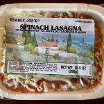 Trader Joe's Frozen Spinach Lasagna Review – Club Trader Joe's