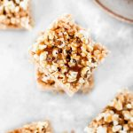 The Best Rice Krispie Treats - Salted Caramel Popcorn
