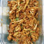 Cauliflower masala fry in Microwave Oven. – Uma's Recipes Corner!