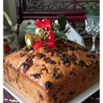 Simple Mix and Bake Fruit Cake With Royal Icing (简易杂果蛋糕) - Guai Shu Shu