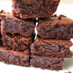 Fudgy Brownies – All Things Sweet and Sugary