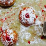 Red Currant Jelly Doughnuts - Jessie Sheehan Bakes