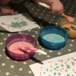 Easy Puffy Paint Recipe! - Em & Me - Microwave Puffy Paint