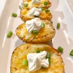 Stuffed baked potatoes with corn and bacon recipe - Kidspot