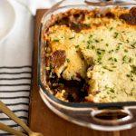 Healthy Shepherd's Pie Recipe with White Sweet Potato