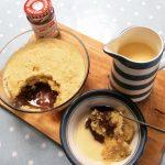 Easy Recipe: Speedy Microwave Jam Sponge - HodgePodgeDays