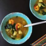 Shrimp and vegetable soup (Paleo, AIP) -