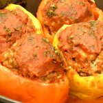 Italian Meatloaf in Peppers Recipe - Peg's Home Cooking