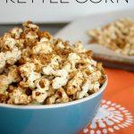 Healthy Homemade Kettle Corn - Feel Great in 8 Blog