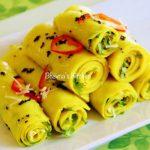 Khandvi in Pressure Cooker – Bhavna's Kitchen & Living