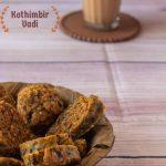 Kothimbir Vadi recipe - Kali Mirch - by Smita