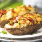 Lightened-Up Twice-Baked Potatoes - Apple of My Eye