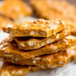 Easy Microwave Cashew Brittle | The Recipe Critic