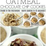MICROWAVE OATMEAL CHOCOLATE CHIP COOKIES - Family Cookie Recipes