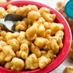 Caramel Corn Puffs + MacSuzie is 1!!!   MacSuzie