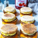 Meal Prep Egg and Sausage McMuffin - The Girl on Bloor