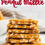 Microwave Peanut Brittle Recipe - easy peanut brittle recipe