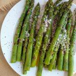 Paper Towel Microwave Asparagus - Eat Like No One Else