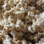 Microwave Caramel Marshmallow Popcorn