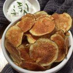 How To Make Easy And Crispy Microwave Potato Chips - Savory Saver