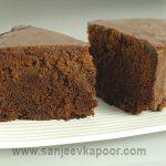 How to make Microwave Chocolate Cake, recipe by MasterChef Sanjeev Kapoor