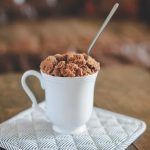 A Cup of Coffee Cake (in Under Five Minutes)   Pretty Prudent