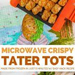 Crispy Microwave Tater Tots - Dorm Room Cook
