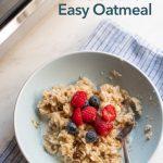 Microwave Oatmeal Recipe EASY 4 Minute Breakfast   Best Recipe Box