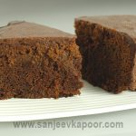 How to make Microwave Eggless Chocolate Cake, recipe by MasterChef Sanjeev  Kapoor