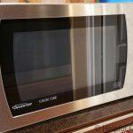 Microwave Inverter Repairs To The Door Bezel & Button - Helpful Colin
