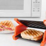 Microwave Sandwich Maker: Make Grilled Cheese Sandwich - GetdatGadget