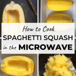 How to Cook Spaghetti Squash in the Microwave in just a few easy steps