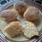 Microwave Spiced Breakfast Muffins ~ Grow Create Save
