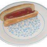 Microwave Hot Dog