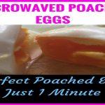Microwaved Poached Eggs - Money Saving Journeys