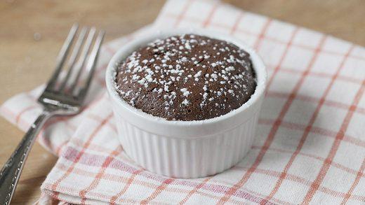 Molten Chocolate Cakes   kelly yandell
