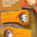 Mom's Roasted Brown Sugar Butternut Squash #FallFlavors ⋆ Books n' Cooks
