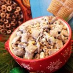 Chocolate Peanut Butter Cheerios Chex Muddy Buddies™ Recipe - My Four and  MoreMy Four and More