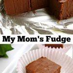 My Mom's Marshmallow Fluff Fudge Recipe - The Food Charlatan