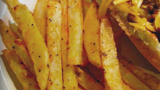 Best Oven Baked Fries and Potato Wedges   Delish Cooks